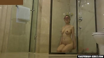 Asian Lesbian Domination In The Shower