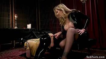 Mistress julia ass Huge tits mistress gives footjob