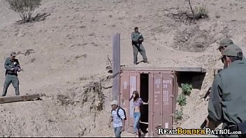 Border Gaurd Blackmails Illegal Hispanic Teenager