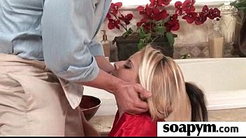 AMAZING body in a hot soapy massage 8