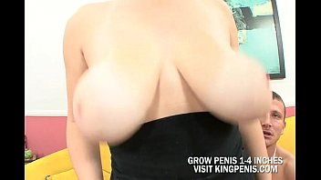 Great Boobs Hottie Rides A Huge Penis
