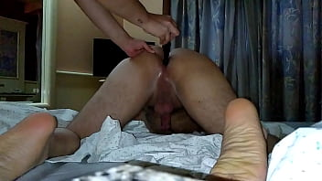 Im a spanked sissy Wife belted my ass for not cumming a second time