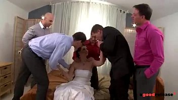 I married porn so star - Fresh marveloos bride blows all her groomsmen