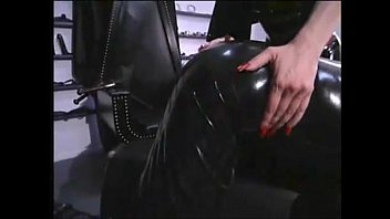 submissive girl wife leather boot latex dominatrix hot whip