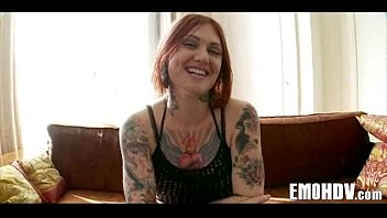 Babe with tattoos gets dick 340 video