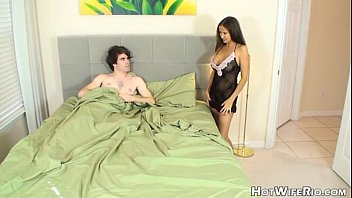 HotWifeRio Waking up son friend fucking with mom