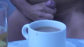 Youre gay Cream in your coffee...