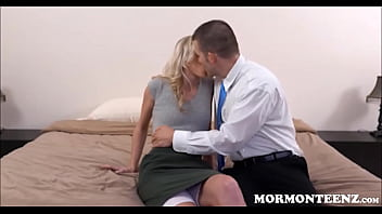 Virgin Mormon Teen First Time