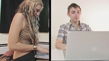 Blonde with dreadlocks loves his hard shaft