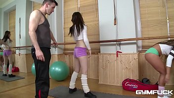 gym fuck with athletic teens bella b amp timea bela makes your cum gush min