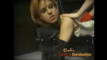 Really sexy mistresses have fun playing with their slave girl