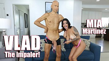 BANGBROS - Young Latina Mia Martinez Meets Vlad The Impaler