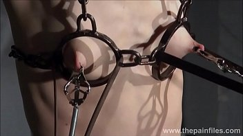 Foot pain bottom side - Electro bdsm and feet punishment of slave elise graves in dungeon tit torture an