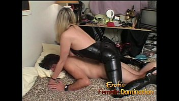 6 femdom - Wife gets fucked and then returns the favor with a strap-on-6