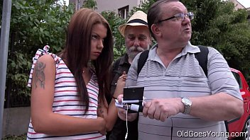 Old Goes Young - Sofia Like Fuck With Two Old Guys