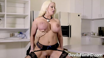 Horny MILF Alura Jenson with huge tits