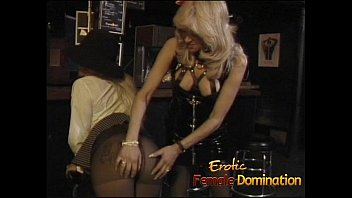 Three slutty bitches enjoy some hard spanking in the bar