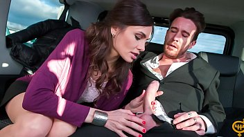 VIP SEX VAULT - Hot Russian babe Audrey Jane gets cum covered in the backseat of the car