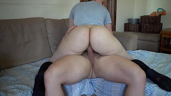 Pawg Riding and Doggystyle Quickie Cum on Bubble Butt!