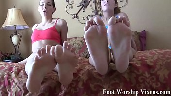 Our size feet deserve to be worshiped daily
