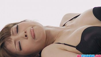 Yuria in bikini fondling herself and masturbating