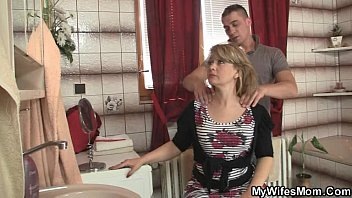 Xxx mother n law She rides son in law cock and his wife comes in