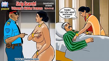 Not hardcore porn comic strips Velamma episode 74 - strip search