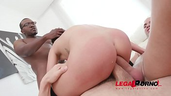 Double anal & creampie for hot slut Nelly Kent