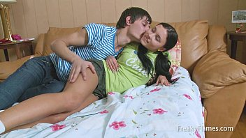 Young tiny stepsister blowjob for fat cock so she gets fucked deeply
