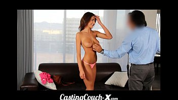 CastingCouch-X Teen fucked first time on cam for $ Thumb