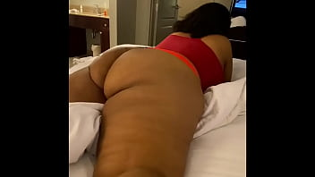 Big booty milf hookups with her side piece at hotel roo