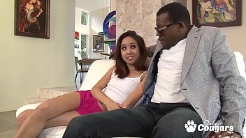 Step daugther Harlow Harrison rides on daddys bbc