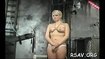 Ballgagged and spanked red