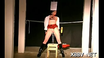 Bra buddies t. and pussy bdsm toying for woman in heats