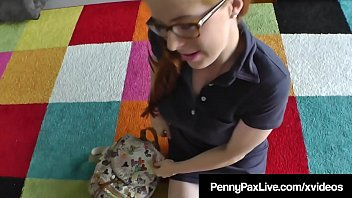 Dirty School Girl Penny Pax Gets Facialized By Fat Cock!