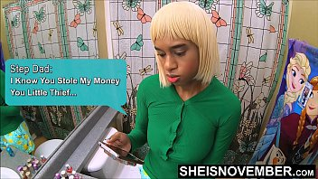 I Wrote A Check That My Ebony Ass Can'_t Cash, Punished By Step Dad Cock For Taking His Cash With Permission, Cute Ebony Brat Msnovember Brutal Fuck By Stepdad Ebony Reality Porn Taboo Fauxcest Family Relations  on Sheisnovember