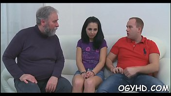 Cute young girl fucked by old guy 5 min