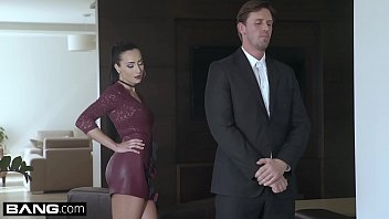 Womans lingerie fitting - Glamkore - cheating wife anna rose fucks her body guard