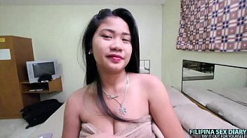 ASIANSEXDIARY Curvy Big Tit Asian Lets Big Dick Creampie Her Fat Pussy