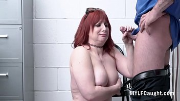 Ginger MILF Gets Away From Sentence By...Amber Dawn