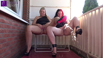Extreme Public-Outdoor Lesbo-Piss-Piggy, with a teen-girl and a milf!