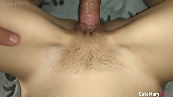 Female Pov Close-up Teen Missionary in Sperm