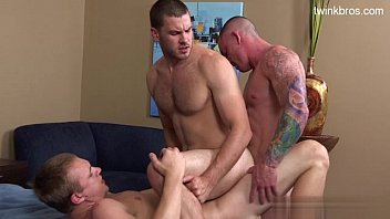 Young guys deep anal