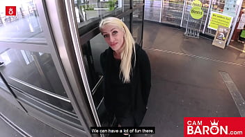 Tattooed thot Harleen van Hynten gets dicked down by a pickup artist! Cambaron.com