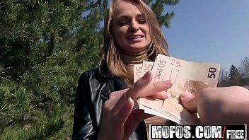 Public Pick Ups - Euro Blonde Licks the Tip starring  Ivana Sugar