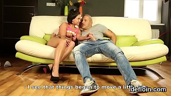 Sultry girl gapes slim honey pot and loses virginity