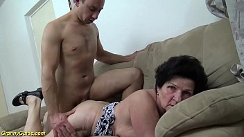 86 years old granny b. banged