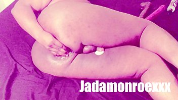 BBW trans Anal Training [Full video on ONLYFANS: JADAMONROEXXX]