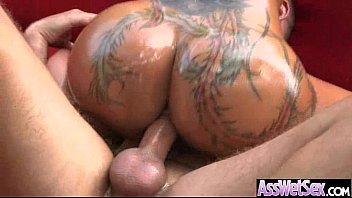 Anal Deep Hardcore Sex With Big Round Oiled Butt Slut Girl (bella bellz) vid-06