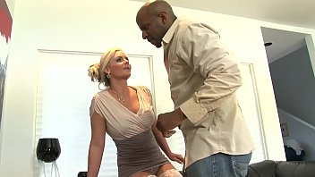 Sexy And Horny Milf, Cheating Blonde Big Tits Wife Takes The Big Black Cock For The First Time And As You Know Once You Go Black You Cannot Go Back.